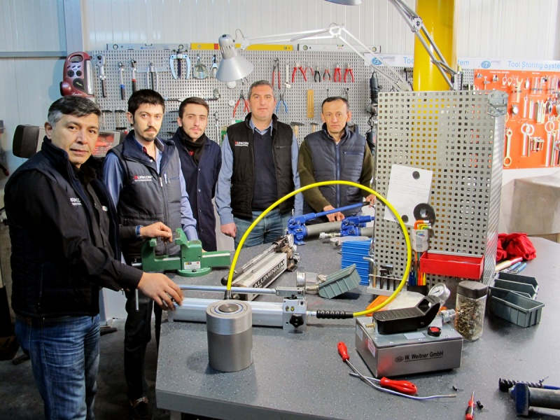 Werner Weitner'dan Hidrolik Eğitimi
